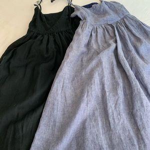 Cynthia Rowley 100% linen dress